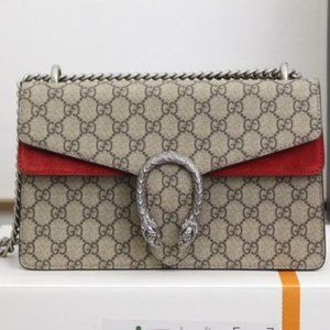 Gucci Dionysus small GG Supreme shoulder bag